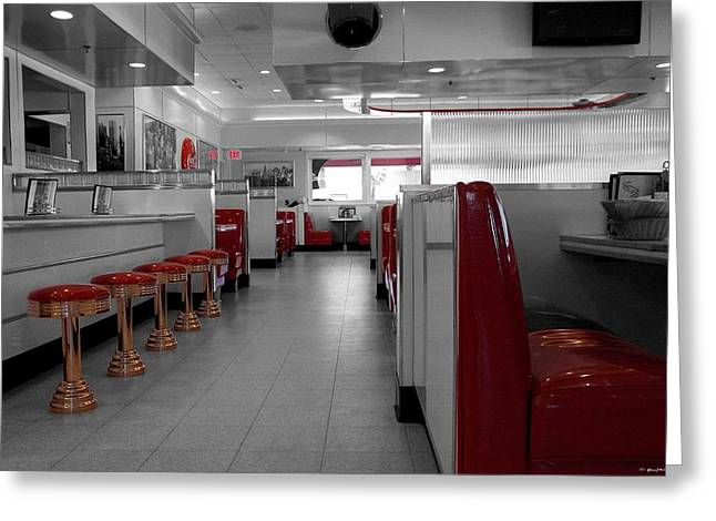 Retro Deli Greeting Card by Glenn McCarthy Art and Photography