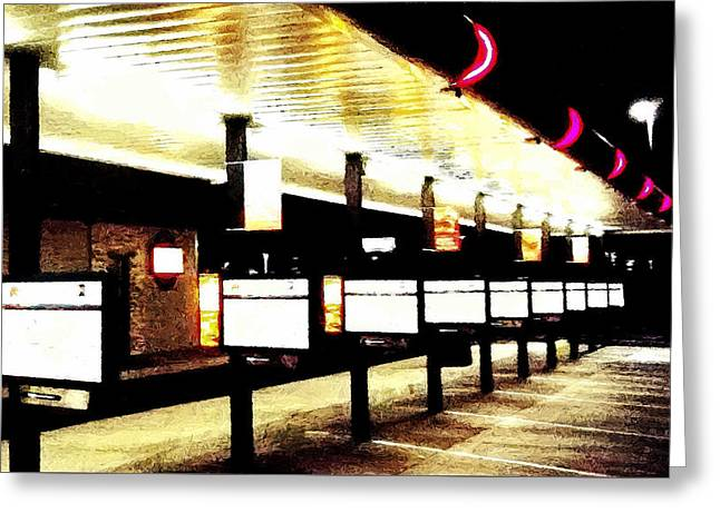 Retro Futures - Sonic It  Greeting Card by Glenn McCarthy Art and Photography