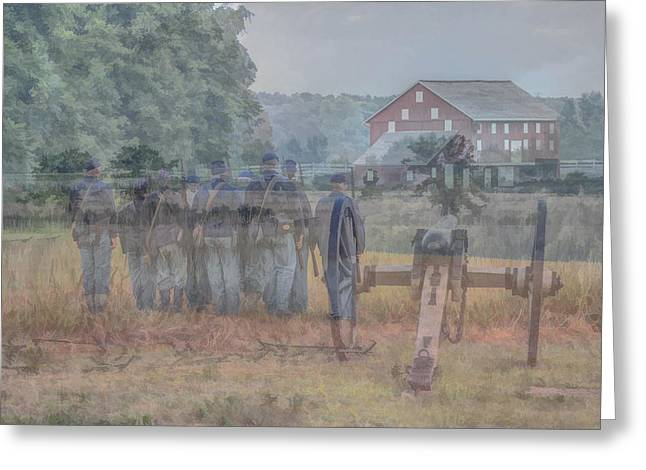 Return To Gettysburg Greeting Card