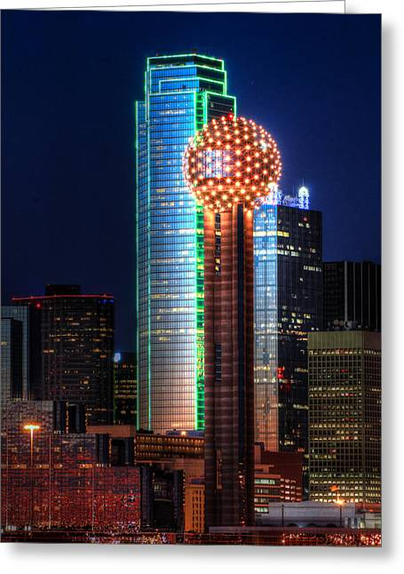 Reunion Tower Greeting Card