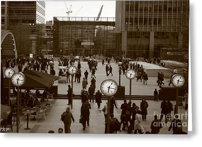 Reuters Plaza  Greeting Card by Size X