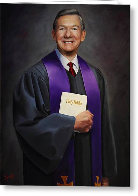 Rev Jack Wilson Greeting Card
