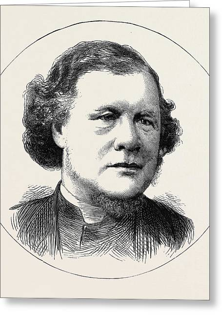 Rev. William Morley Punshon Greeting Card by English School