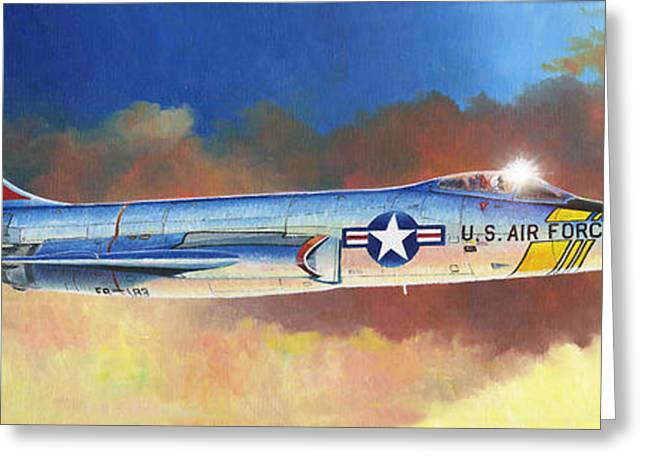 Rf-101 Voodoo Greeting Card