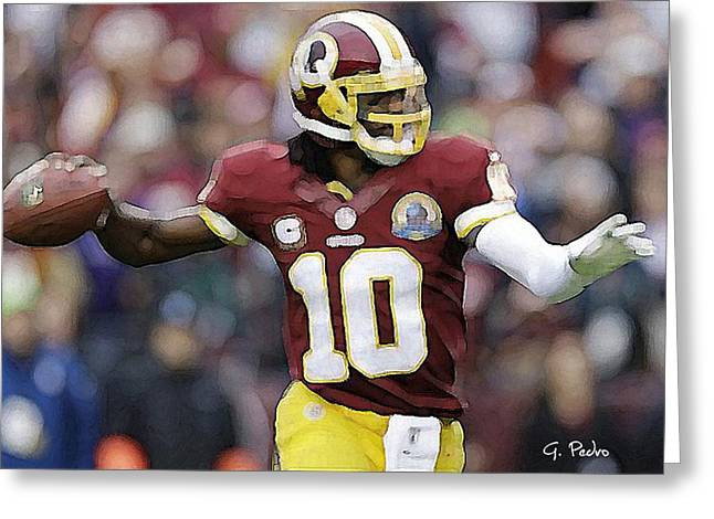 Rg 3 In Perfect Form Greeting Card