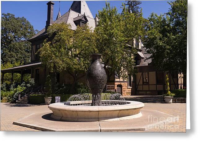 Rhine House At Beringer Winery St Helena Napa California Dsc1728 Greeting Card