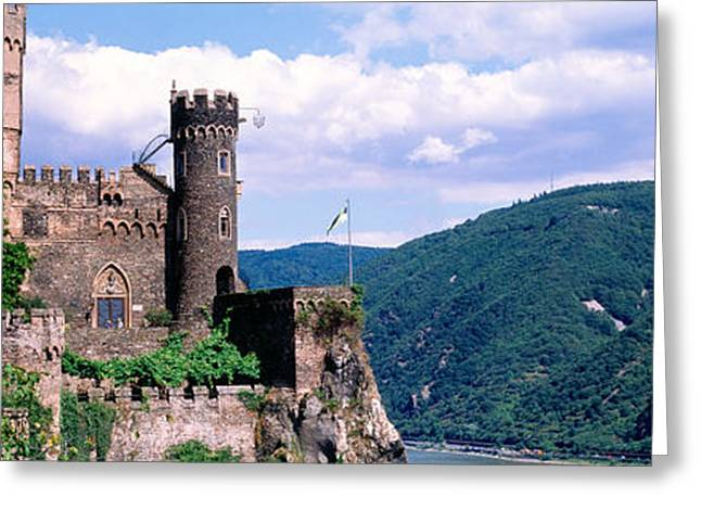 Rhinestone Castle Germany Greeting Card by Panoramic Images