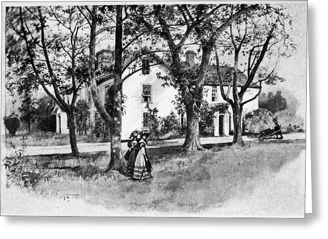 Rhode Island Greene House Greeting Card by Granger