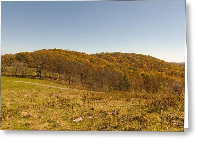 Rich Mountain Autumn Greeting Card
