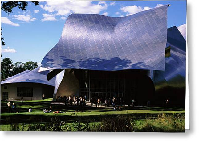 Richard B. Fisher Center Greeting Card by Panoramic Images
