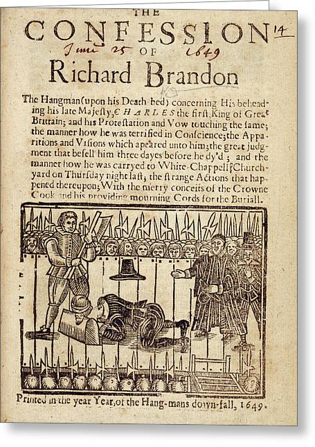 Richard Brandon Greeting Card