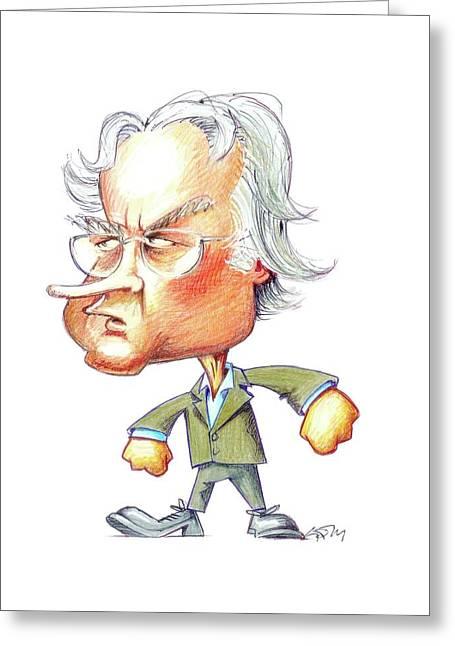 Richard Dawkins Greeting Card