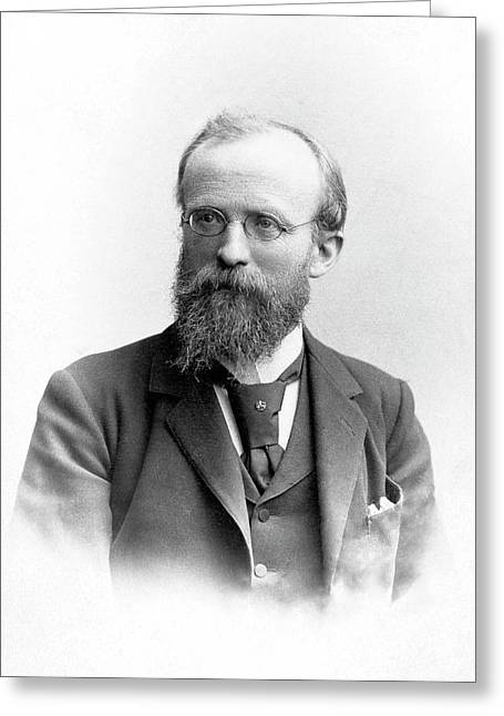 Richard Von Hertwig Greeting Card by American Philosophical Society