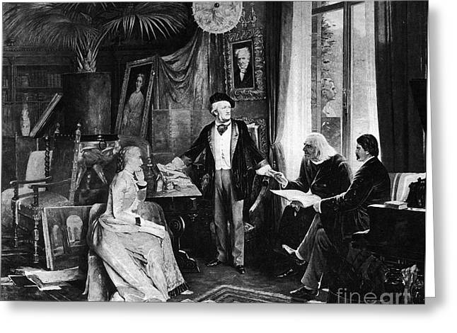 Richard Wagner Greeting Card by Granger