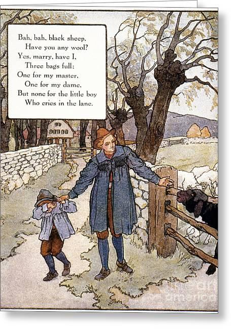 Richardson: Mother Goose Greeting Card
