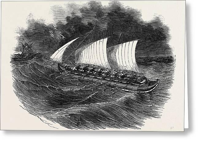 Richardsons Patent Tubular Lifeboat Greeting Card