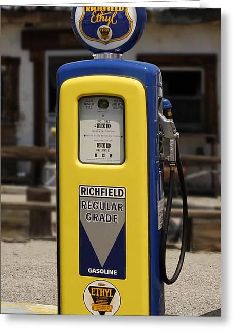 Richfield Ethyl - Gas Pump Greeting Card