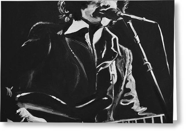Rick Danko Greeting Card