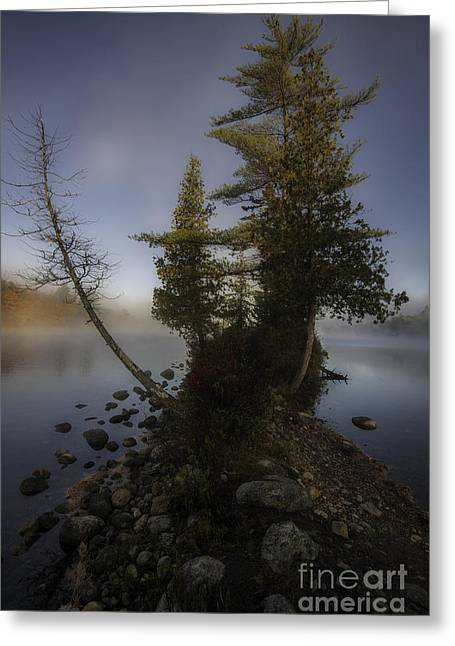 Rickers Pond - Groton State Forest Vermont Greeting Card by Thomas Schoeller