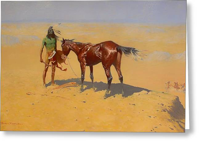 Ridden Down Greeting Card by Mountain Dreams