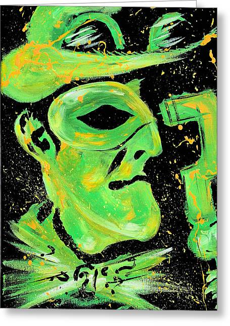 Riddler Greeting Card by Tony Herrera