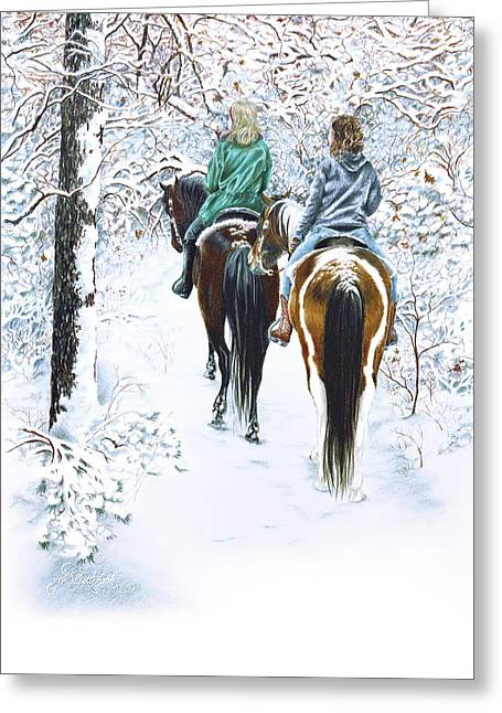 Ride Into Faerieland Greeting Card