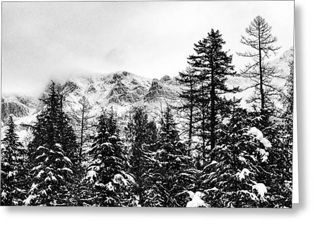 Ridgeline Greeting Card by Aaron Aldrich