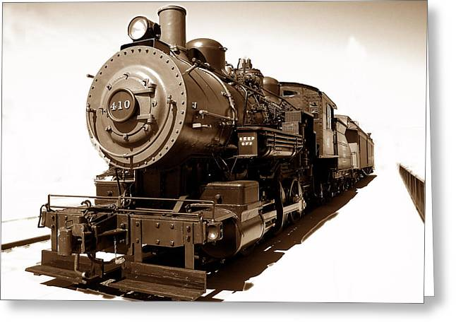 Greeting Card featuring the photograph Riding The 410 by Raymond Earley