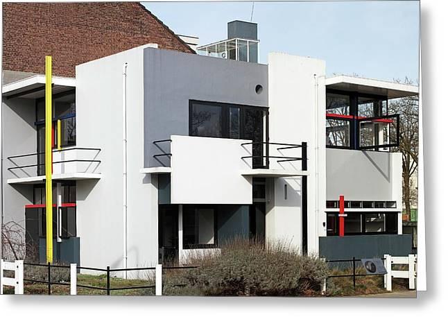 Rietveld Schroder House Utrecht Pan Greeting Card