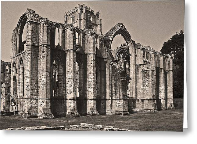 Rievaulx Abbey Greeting Card