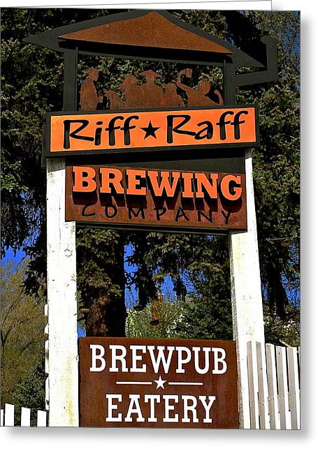 Riff Raff Brewing Greeting Card