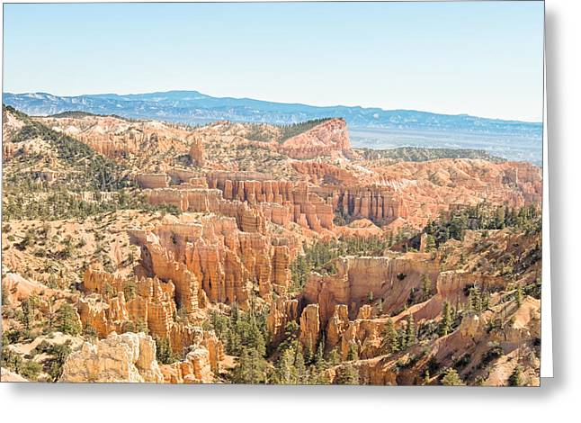 Rim Trail - Bryce Canyon National Park - Ut Greeting Card