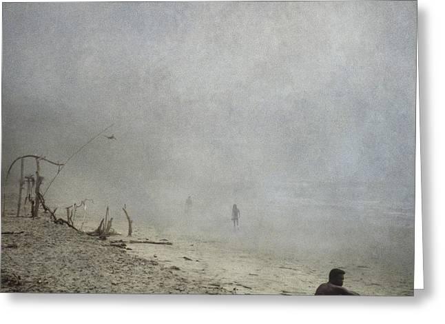 Rincon Beach Greeting Card by Beth Goyer