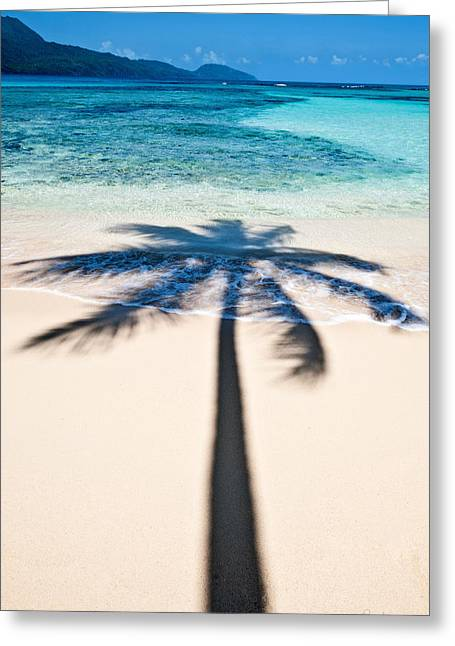 Rincon Shadow Greeting Card