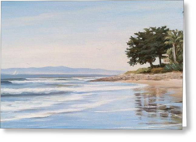 Rincon Greeting Card by Tina Obrien