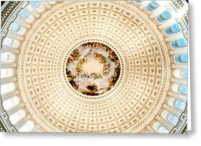 Ring Around The Capitol Greeting Card