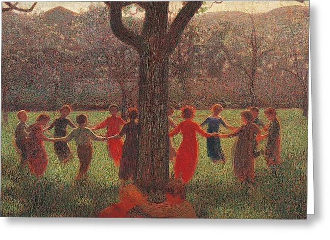 Ring-around-the-rosey Greeting Card
