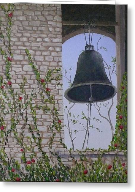 Ring My Bell Greeting Card
