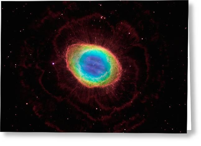 Ring Nebula Greeting Card