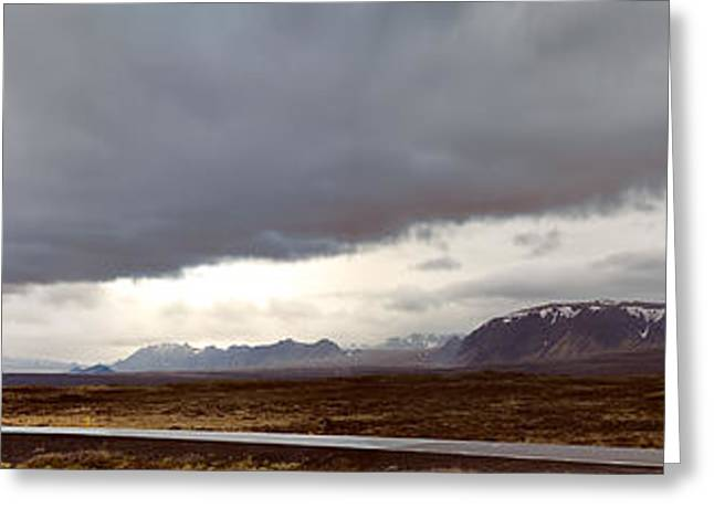 Ring Road Iceland Greeting Card by Dirk Ercken