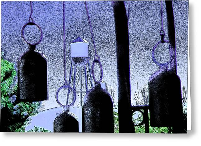 Ring Them Bells Greeting Card by Lenore Senior