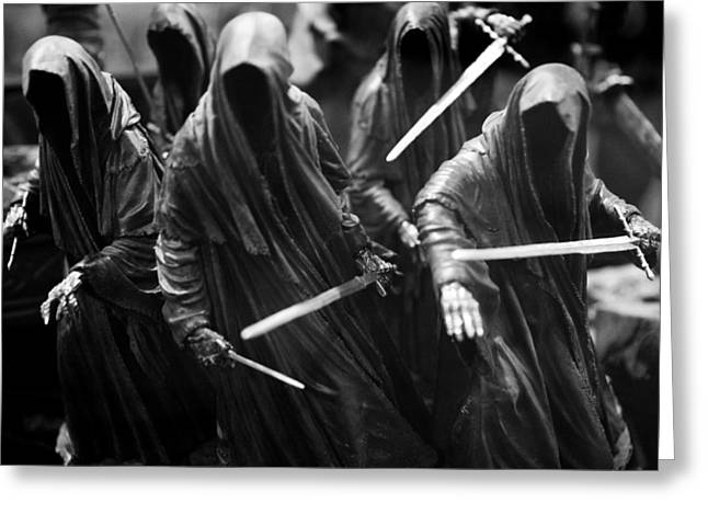 Greeting Card featuring the photograph Ring-wraiths by Nathan Rupert