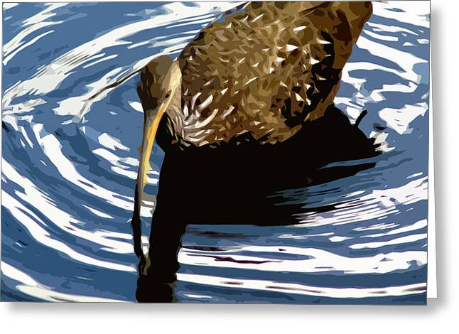 Ringed Limpkin Greeting Card