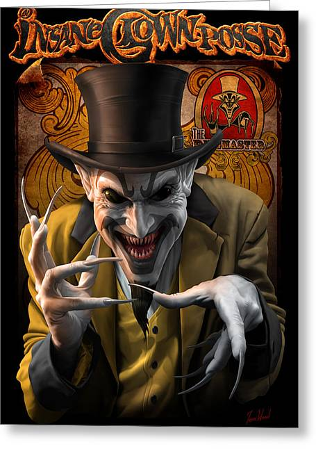 Ringmaster_dc Greeting Card by Tom Wood