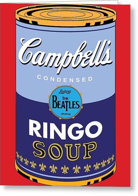 Ringo Greeting Card