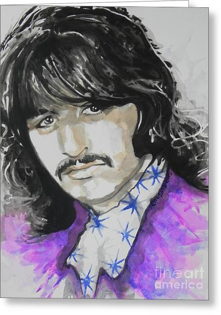 Ringo Starr. 01 Greeting Card