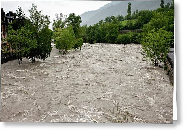 Rio Ara Flooding Greeting Card