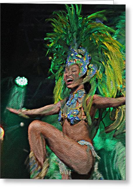 Rio Dancer I A Greeting Card