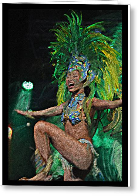 Rio Dancer I B  Greeting Card