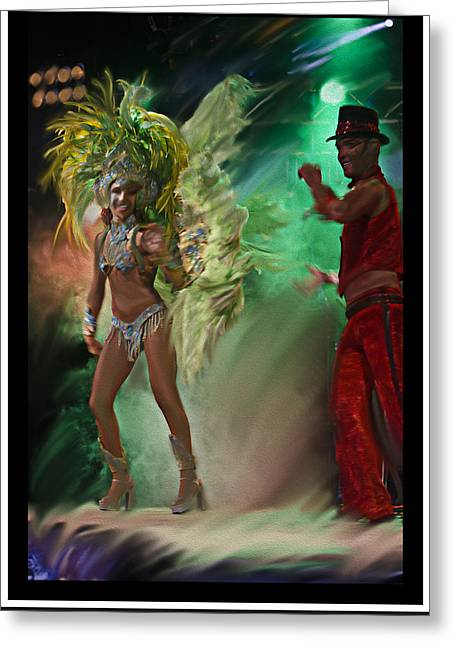 Rio Dancer II B  Greeting Card